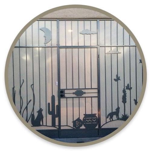 Wrought Iron Enclosures