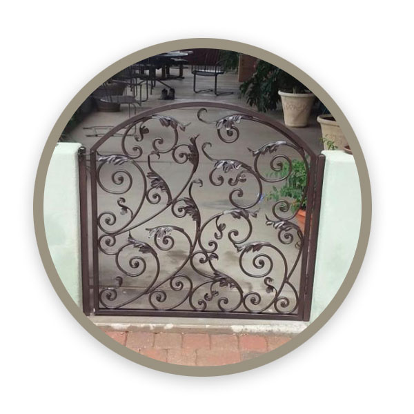 Wrought Iron Gates, Doors and Entryways